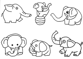 Small Picture Coloring Pages Of Safari Animals Coloring Pages