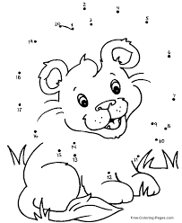 Connect The Dot Free Coloring Pages On Art Coloring Pages