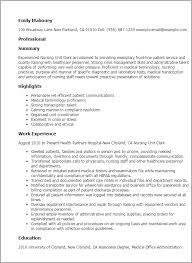 Hospital Unit Clerk Resume Nursing Unit Clerk Resume Template Best Design Tips