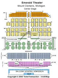 emerald chart emerald theatre seating chart