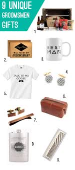 9 unique gifts for your groomsmen