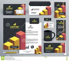 professional branding design kit bricks stock vector image professional branding design kit bricks