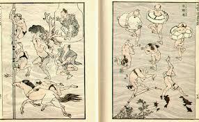 Bildergebnis für japanischer holzschnitt manga