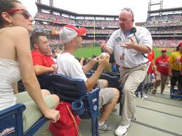 8 4 13 at citizens bank park the baseball collector for the entire day i d been thinking about looking for the security supervisor