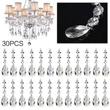 30pcs acrylic crystal garland hanging bead curtain wedding party decorations uk