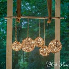 rustic outdoor chandelier how to create rustic outdoor lighting using string lights and gvine rustic