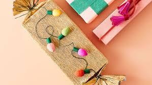 crepe paper string lights
