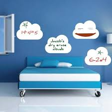 four dry erase cloud wall decals on wall designer accents adhesive art with 46 best dry erase wall decals and stickers images on pinterest dry
