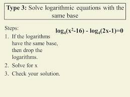 solve logarithmic equations jennarocca