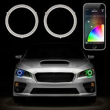 Halo Light Kits For Cars Rgb Halo Kit For Headlights Xkchrome Smartphone App