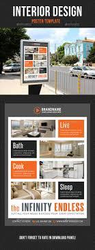Interior Design Poster Template V05 - Signage Print Templates