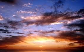 sunset sky wallpaper 08524
