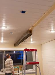 faux ceiling beams diy. Exellent Ceiling Kitchen Chronicles DIY Wood Beams  Jenna Sue Design Blog With Faux Ceiling Diy G