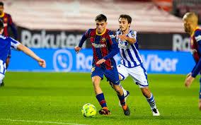 Барселона Реал Сосьедад смотреть онлайн - Ла Лига прямая трансляция -  16.12.2020 - Телеканал Футбол