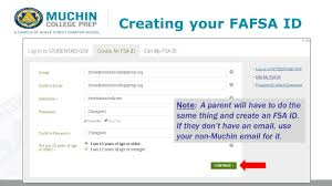Ppt Studentaid Id Your Fafsa Muchincollegeprep Creating org gov xqpwW0CS