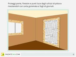 Pitturare Muri Esterni Di Casa : Tinteggiatura pareti come fare preparazione e pittura fai da te