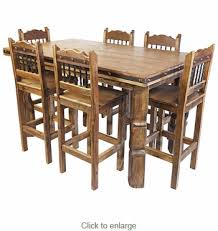 dinner table set for 6. rustic wood counter height dining table set with 6 bar stools dinner for