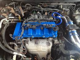 mazda protege timing belt water pump how to