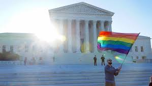 sample research paper on gay marriage legalize gay blog ultius man waves gay pride flag outside supreme court