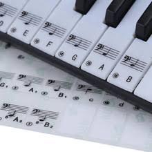 Фортепианная наклейка прозрачная, в форме рояля <b>наклейка на</b> ...