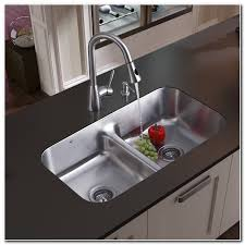 double bowl undermount stainless steel sink