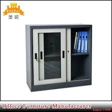 mini small sliding glass door metal office filing cabinets pictures photos doors tint china