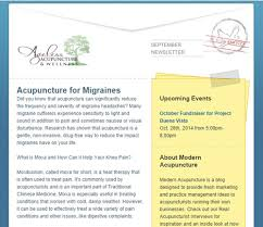 october newsletter ideas newsletter comparison how to chose modern acupuncture