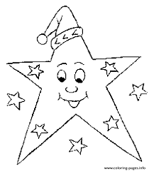 Small Picture Christmas Stars Coloring pages Printable