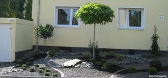 Vorgarten Mit Kies Gestalten Gartengestaltung Gartengestaltung