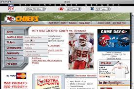 Kansas City Chiefs Depth Chart Espn Kansas City Chiefs Old Site Studio Zeldman