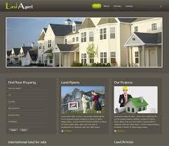 Free Real Estate Agent Website Design Real Estate Html Flyer