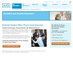 aig health insurance quote step 1