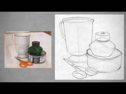 drawing shape simple still life