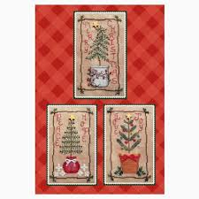 Christmas Tree Cross Stitch Chart Christmas Tree Trio