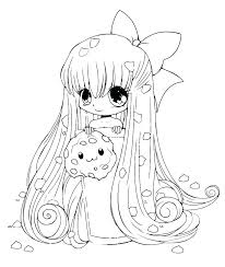 Cool Anime Coloring Pages Fabulous Cute Chibi Girl Boy And Colori