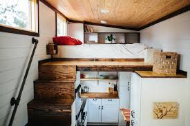 What Is The Tiny House Movement - Tiny house on wheels interior