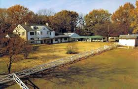 GRACELANDBack View Of The House