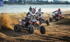adventure relay race with quads and jet skis red bull bar bahr