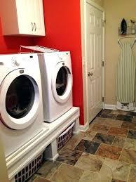 pedestl wy lundry ws washer and dryer base pedestals frigidaire washer and dryer base pedestal height