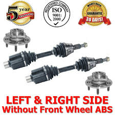 06-08 Dodge Ram 1500 4x4 Rear Wheel ABS ONLY Front Axles with Hub ...