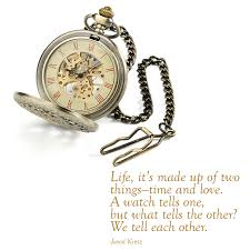 Watch Quotes Simple Quote By Jarod Kintz €�Life It's Made Up Of Two Thingstime And
