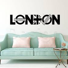 online shop new art design home decoration vinyl london character
