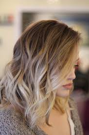 Blonde Balayage Ombre On Short Hair