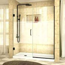 frosted shower door patterned doors showers the home depot hinged with half canada