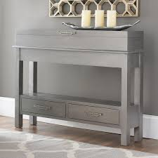 hallway console cabinet. Small Console Table With Storage Wonderful Narrow Hallway Cabinet Design Cool N