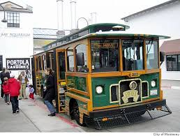 the wave trolley in monterey photo city of monterey