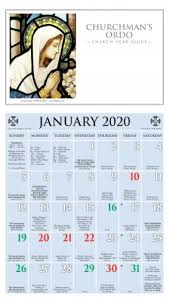 Printed Church Liturgical Calendars Ashby Publishing