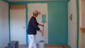 painting a wallInterior Painting Step 3 Painting the Walls  YouTube