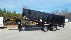 big tex 18 gooseneck hydraulic dump trailer stock 81825du