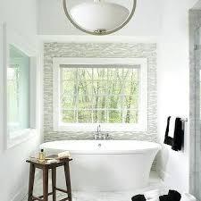 A Bathroom Accent Wall Paint Design Ideas M Spa Gray Glass Tile